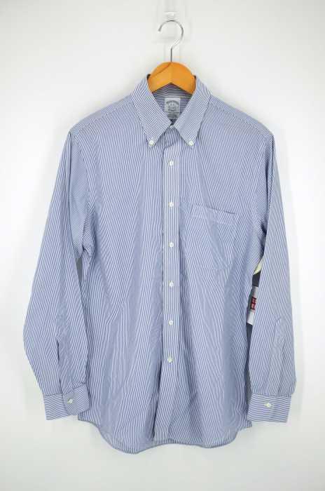 BROOKS BROTHERS (ブルックスブラザーズ) ストライプボタンダウンシャツ メンズ トップス