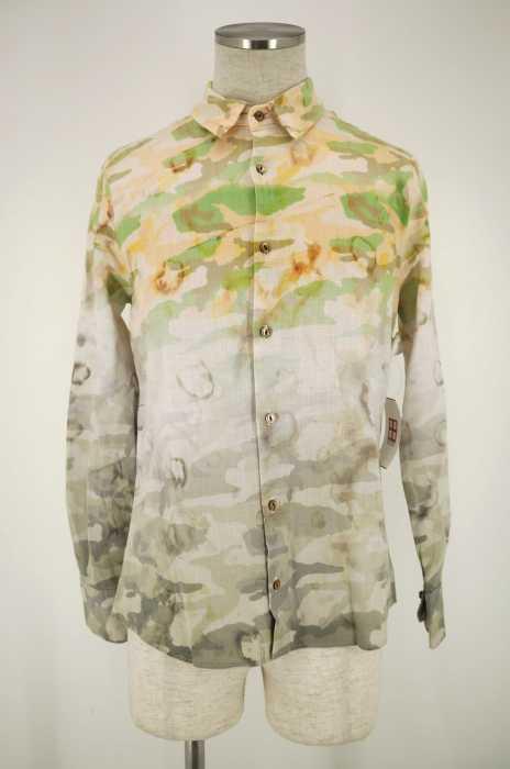 maxsix (マックスシックス) リネン混ボタンシャツ メンズ トップス