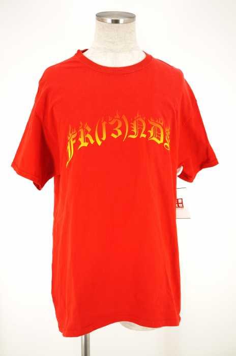 FR(13)NDS(フレンズ) ロゴプリントtシャツ メンズ トップス