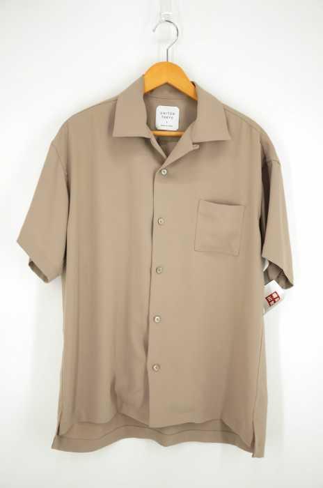 UNITED TOKYO (ユナイテッドトウキョウ) サテンオープンカラーシャツ メンズ トップス