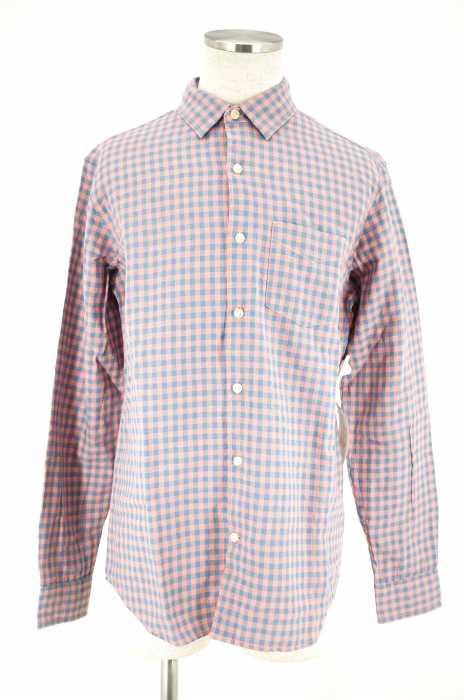 Gap (ギャップ) STANDARD FIT LINEN COTTON SHIRTS チェックシャツ メンズ トップス