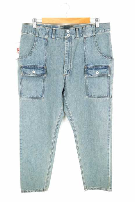 ESSAY (エッセイ) 13.5oz DEKABAKI BUSH ストレートデニムパンツ メンズ パンツ