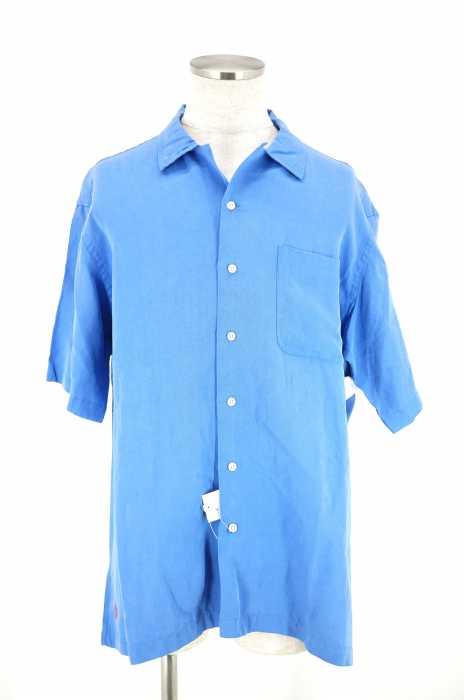Polo by RALPH LAUREN (ポロバイラルフローレン) CALDWELL シルクリネン オープンカラーシャツ メンズ トップス