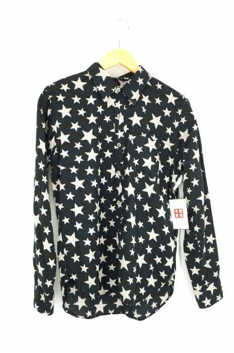 BEAMS  (ビームス) 星柄レーヨン混シャツ メンズ トップス