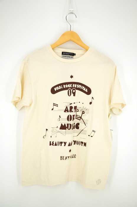 BEAUTY & YOUTH UNITED ARROWS×FUJIROCK(ビューティーアンドユースユナイテッドアローズ フジロック) プリントTシャツ メンズ トップス