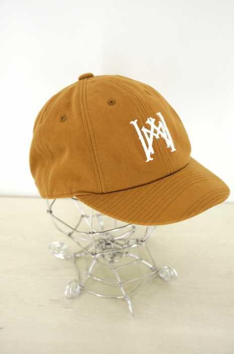 WHITE MOUNTAINEERING(ホワイトマウンテニアリング) WM Embroidered Cotton Twill Baseball Cap メンズ 帽子