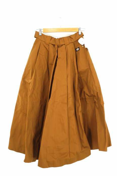 OPAQUE.CLIP×Dickies(オペークドクリップ ディッキーズ) Aラインロングスカート レディース スカート