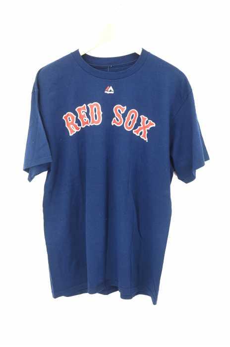 MAJESTIC(マジェスティック) RED SOX ナンバリングTシャツ メンズ トップス