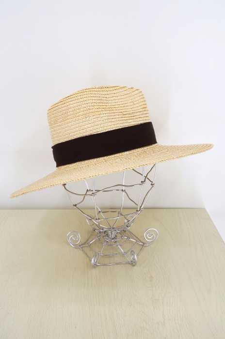 Brixton(ブリクストン) ロングブリム ストローハット レディース 帽子