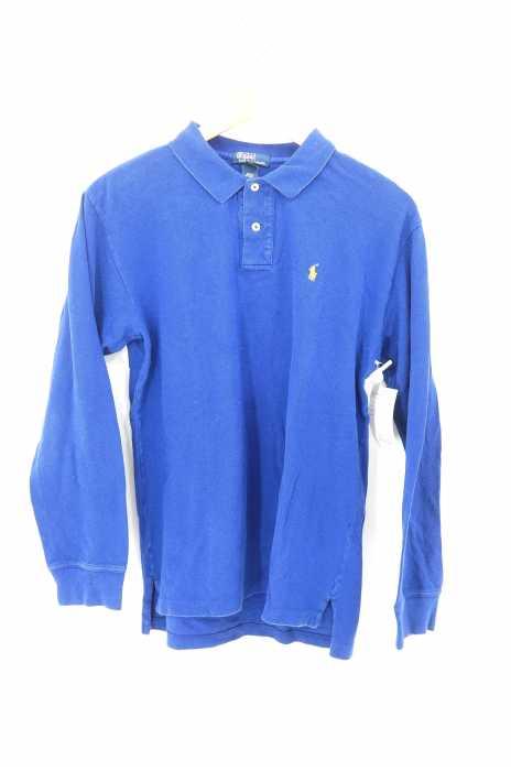 Polo by RALPH LAUREN (ポロバイラルフローレン) ワンポイント刺繍長袖ポロシャツ メンズ トップス