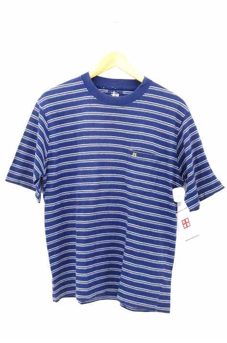 Stussy(ステューシー) ボーダーポケットTシャツ メンズ トップス