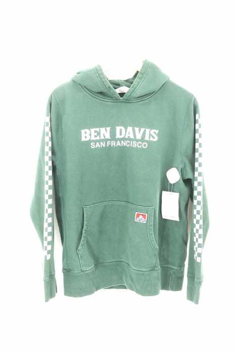 BEN DAVIS (ベンデイビス) プリントプルオーバーパーカー メンズ トップス