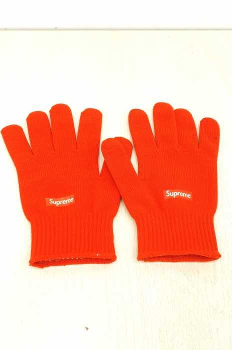 Supreme (シュプリーム) ロゴプリント 手袋 メンズ ファッション雑貨