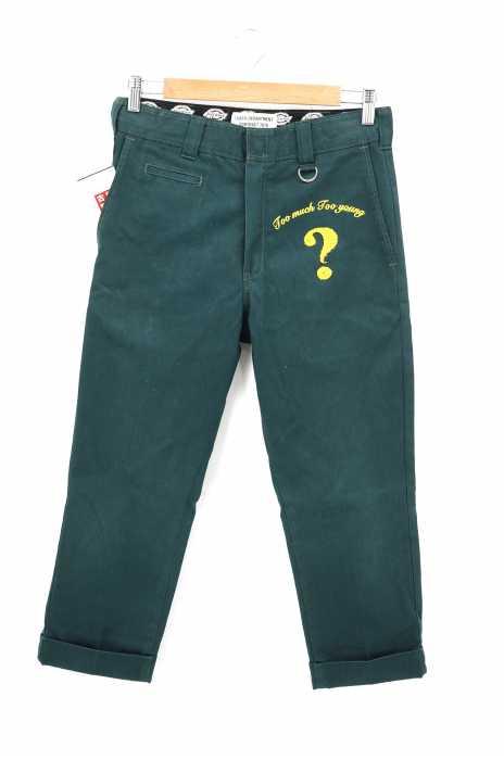 LUKER By NEIGHBORHOOD x Dickies(ルーカーバイネイバーフッド ディッキース) 刺繍入り コットンパンツ メンズ パンツ