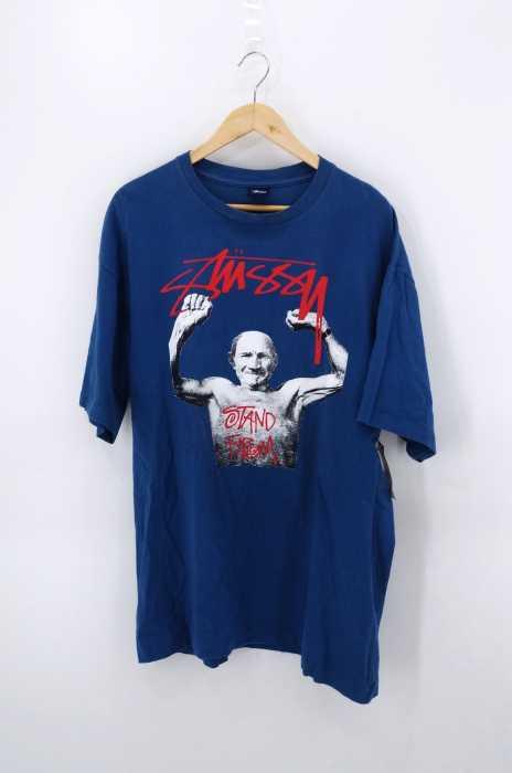 STUSSY (ステューシー) stand firm クルーネックTシャツ メンズ トップス