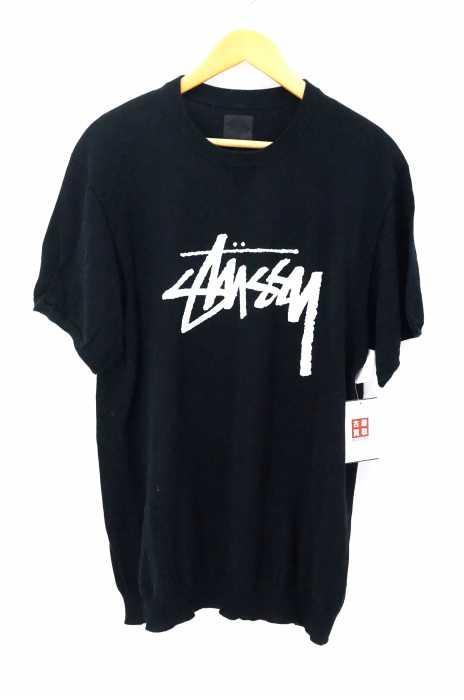 Stussy(ステューシー) ロゴプリントニットカットソー レディース トップス