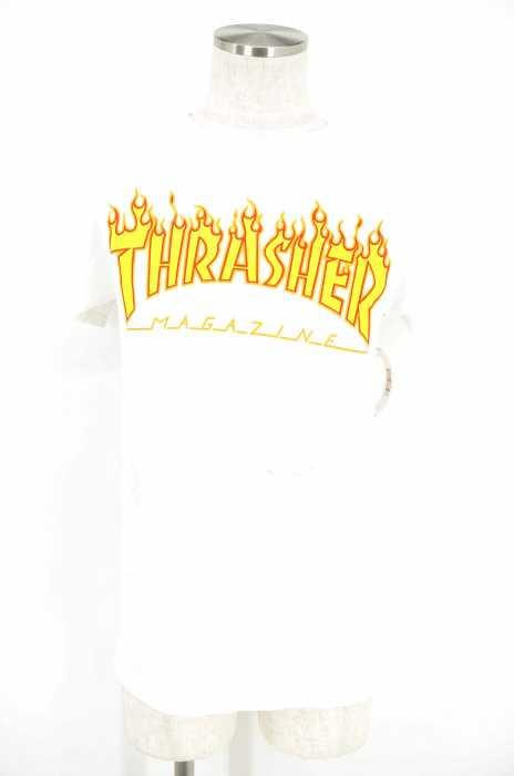 THRASHER(スラッシャー) ファイヤーロゴプリントTシャツ メンズ トップス