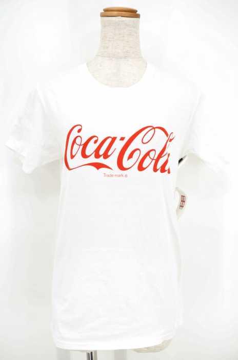BEAMS BOY×FRUIT OF THE LOOM (ビームスボーイ×フルーツオブルーム) Coca-Cola プリントTシャツ レディース トップス