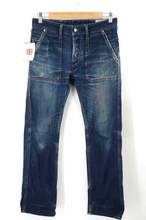 DIESEL (ディーゼル) LOIKU ボタンフライ デニムパンツ メンズ パンツ