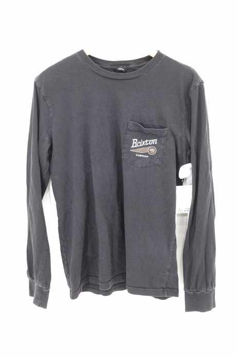 Brixton(ブリクストン) バックプリント胸ポケットクルーネックTシャツ メンズ トップス