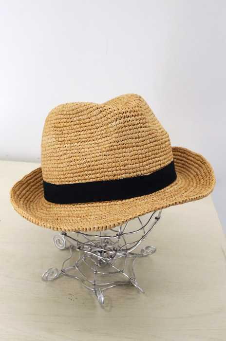 UNITED ARROWS green label relaxing (ユナイテッドアローズグリーンレーベルリラクシング) CB ラフィアコマアミ ナカオレハット レディース 帽子