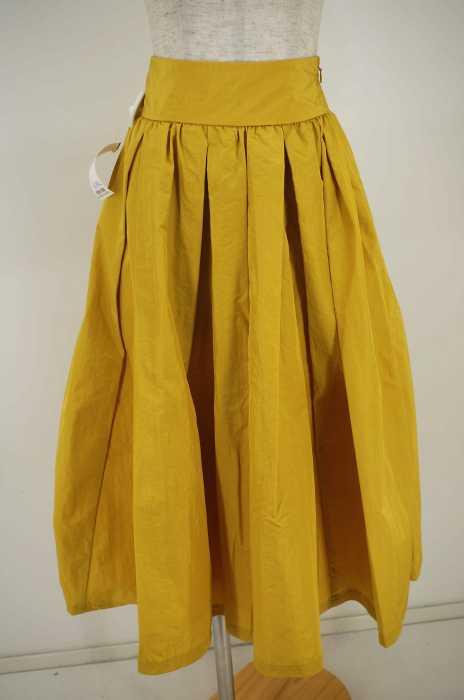 Another Edition (アナザーエディション) タフタタックギャザースカート レディース スカート
