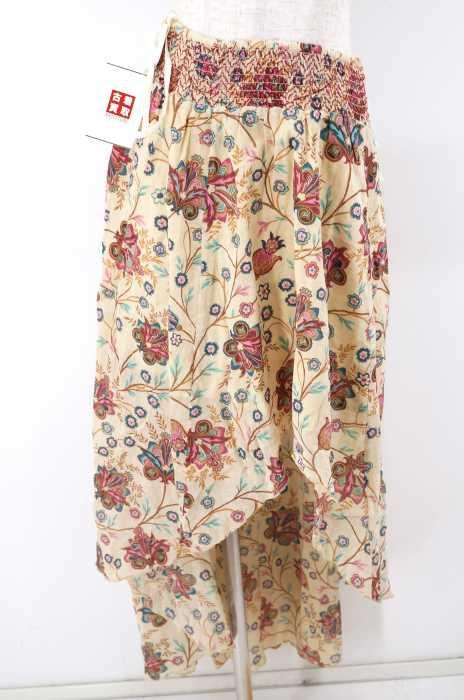 DENIM & SUPPLY RALPH LAUREN (デニムアンドサプライ ラルフローレン) 花柄ヘムレイヤースカート レディース スカート