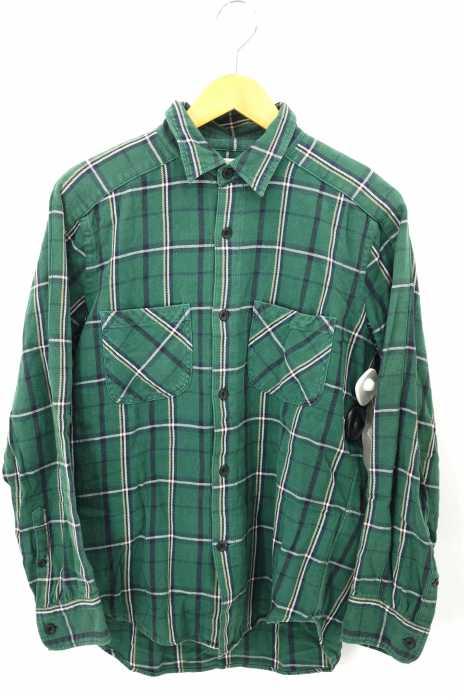 UNUSED (アンユーズド) チェック柄ボタンシャツ メンズ トップス