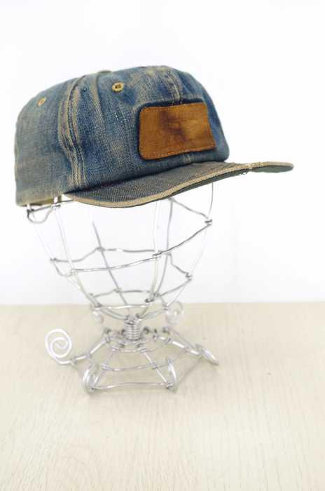 Levi's (リーバイス) パッチ付き6パネルデニムキャップ メンズ 帽子