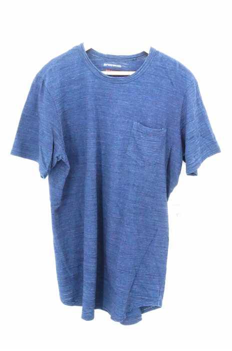 TIGRE BROCANTE(ティグルブロカンテ) インディゴ染めポケットTシャツ メンズ トップス