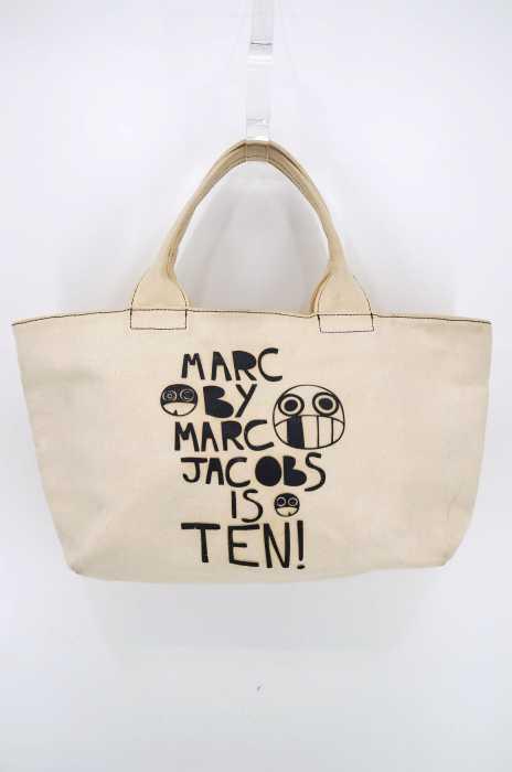 Marc by Marc Jacobs (マークバイマークジェイコブス) 10周年記念 キャンバスプリントトート レディース バッグ