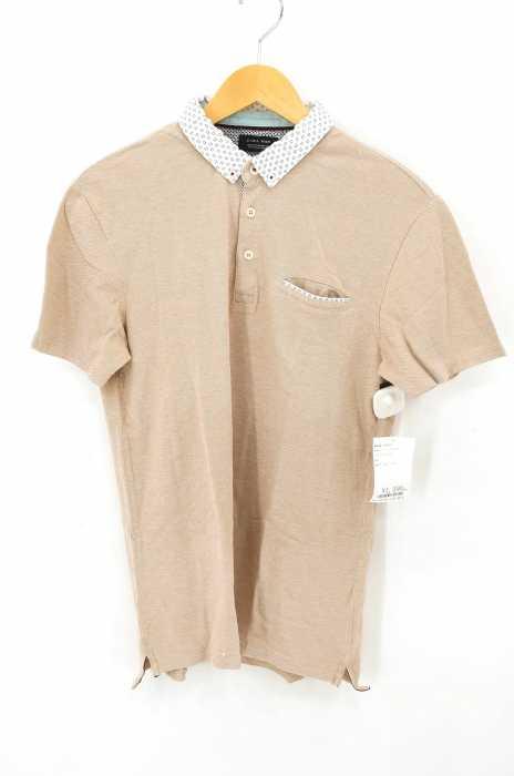 ZARA MAN (ザラマン) 半袖ポロシャツ メンズ トップス