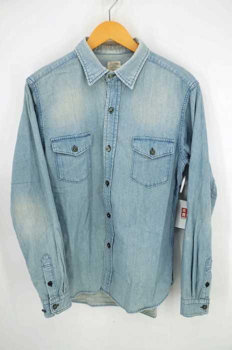 BACK NUMBER(バックナンバー) デニムボタンシャツ メンズ トップス
