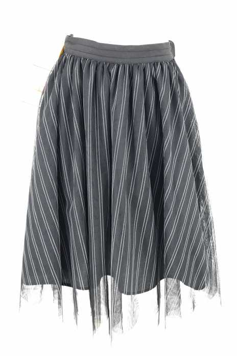 LOWRYS FARM (ローリーズファーム) ストライプチュールスカート レディース スカート