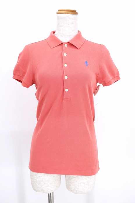 Rugby Ralph Lauren(ラグビーラルフローレン) スカル刺繍鹿の子ポロシャツ レディース トップス