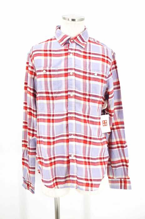 J.A.C.H.S() チーフ付きチェックシャツ メンズ トップス