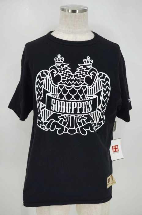 DUPPIES (ダッピーズ) プリントクルーネックTシャツ メンズ トップス
