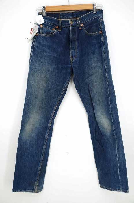 Levi's (リーバイス) 501 ボタンフライ5Pデニムパンツ スモールe メンズ パンツ
