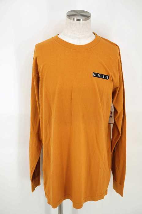 NUMBERS EDITION(ナンバーズエディション) LOGOTYPE-L/S T-SHIRT バックプリントロングスリーブTシャツ メンズ トップス