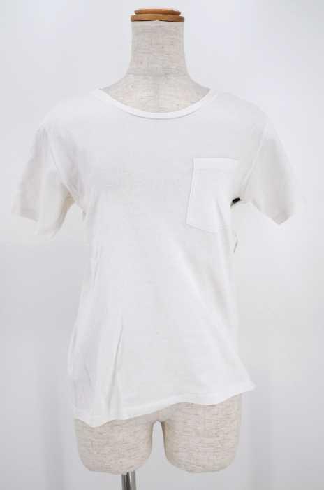 Hanes × BEAMS (ヘインズビームス) ポケットTシャツ レディース トップス