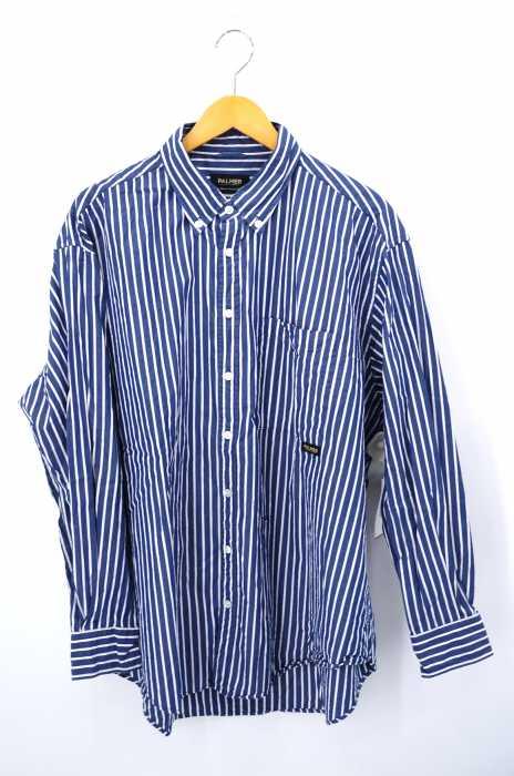 PALMER TRADING CO. (パーマートレーディングカンパニー) for JOURNAL STANDARD relume CHAVO SHIRT ストライプビッグシャツ メンズ トップス