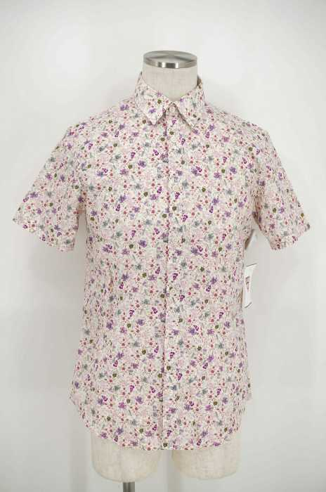 Paul Smith (ポールスミス) INDIAN FLORAL SS PRINT SHIRT 花柄ボタンシャツ メンズ トップス