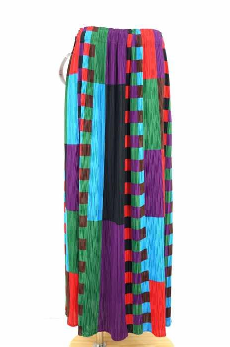 PLEATS PLEASE ISSEY MIYAKE (プリーツプリーズイッセイミヤケ) 総柄イージープリーツスカート レディース スカート