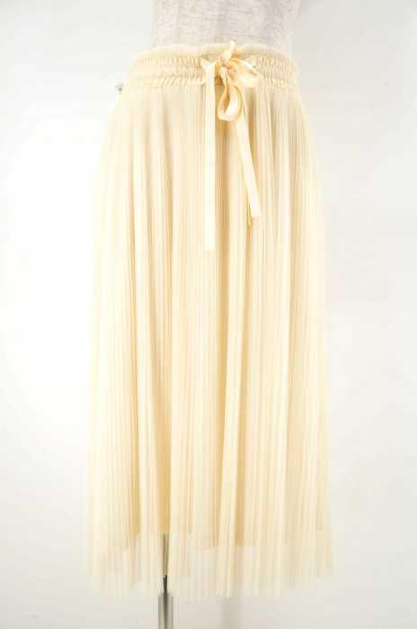 BE RADIANCE(ビーラディエンス) リボン付きチュールスカート レディース スカート
