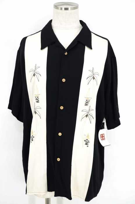The Kauanera Shirt Co. () 刺繍切替アロハシャツ メンズ トップス