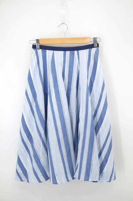 JUSGLITTY(ジャスグリッティー) シースルーストライプスカート レディース スカート