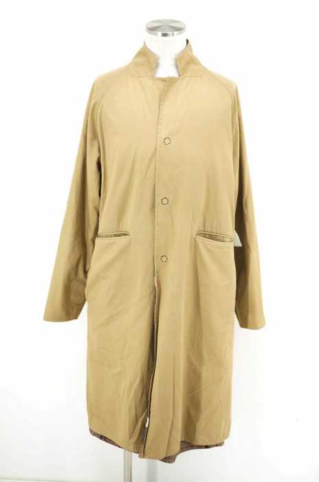 SUNSEA (サンシー) Reversible Check Burberry Coat メンズ アウター