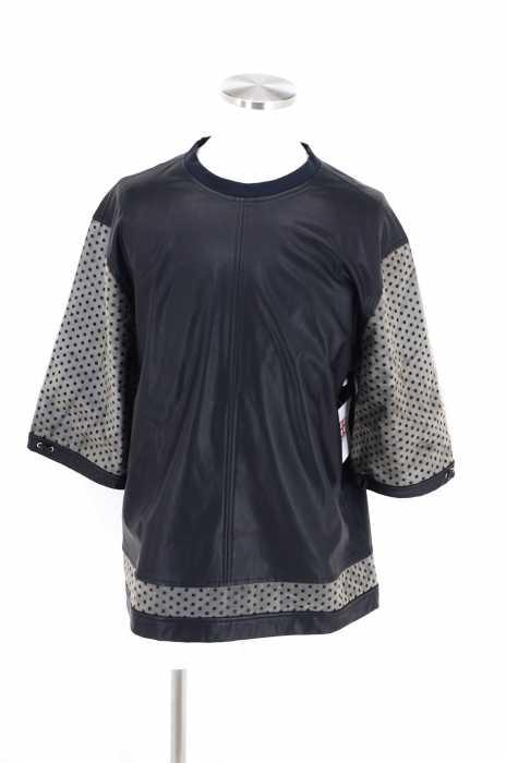 J'AI MAL A LA TETE (ジェマララテート) baseballshirt soft faux leather メンズ トップス