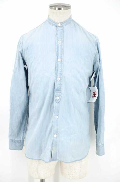 UNITED ARROWS (ユナイテッドアローズ) コットンバンドカラーシャツ メンズ トップス
