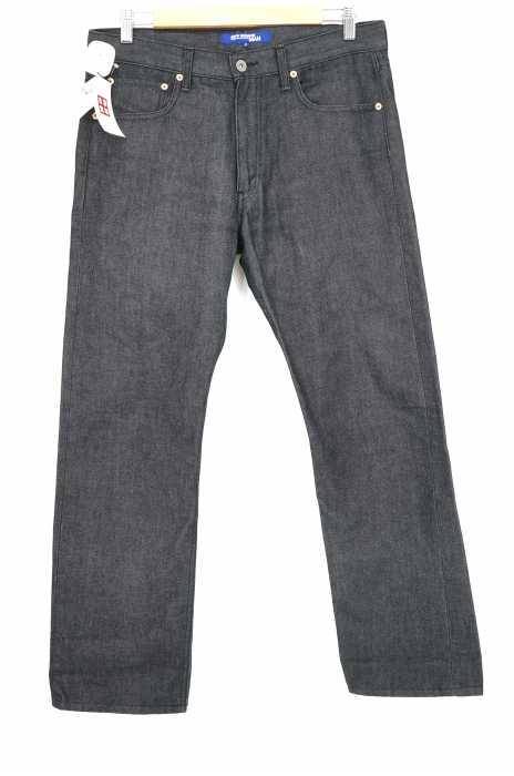 JUNYA WATANABE MAN(ジュンヤワタナベマン) AD2002 ストレートブラックデニムパンツ メンズ パンツ